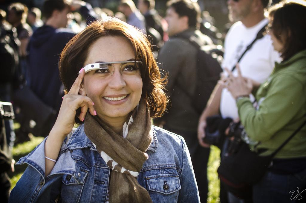 Google Glass használat