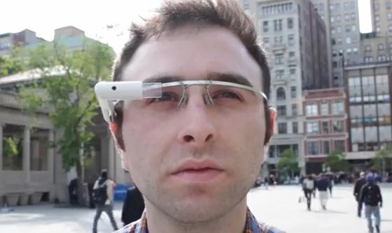 Google Glass fotós