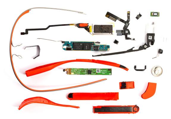 Google Glass szétszedve